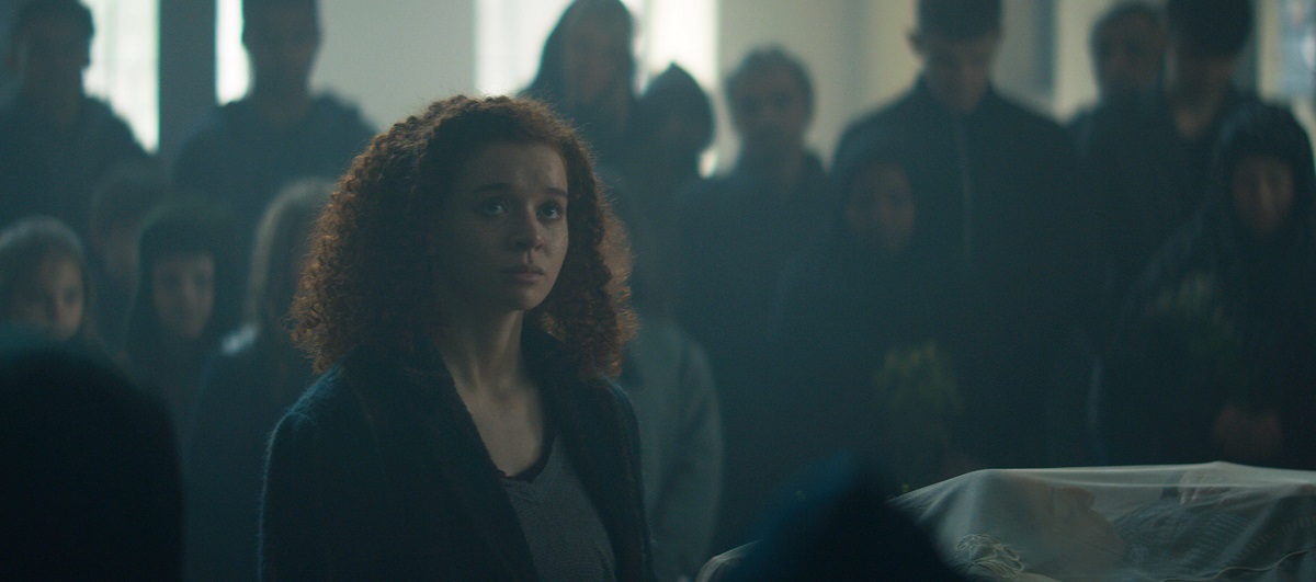 """Still of Erin Kellyman in The Falcon and the Winter Soldier episode """"The Whole World Is Watching."""""""