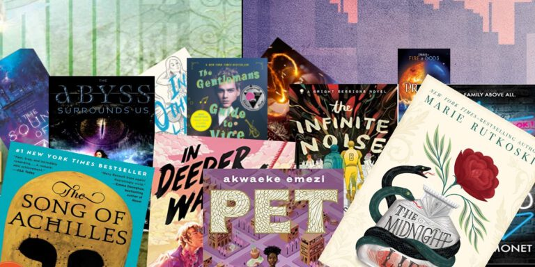 multiple queer YA book covers