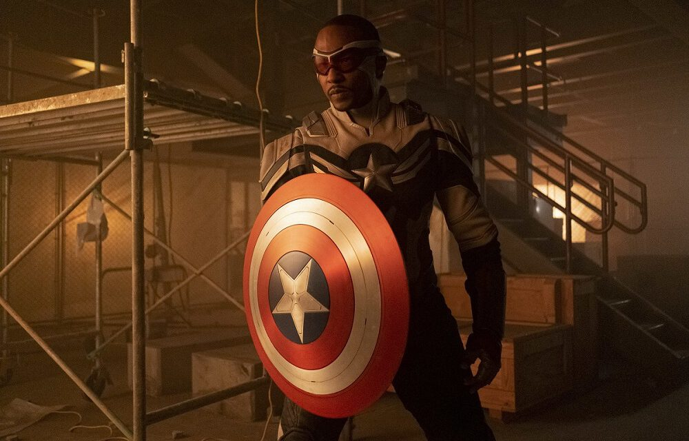 Anthony Mackie Will Wield the Shield in CAPTAIN AMERICA 4