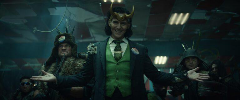 Still of Tom Hiddleston in Marvel's Loki.