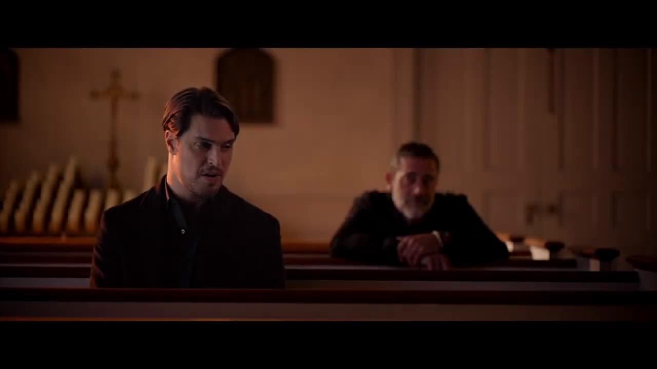 Diogo Morgado, Jeffrey Dean Morgan in The Unholy