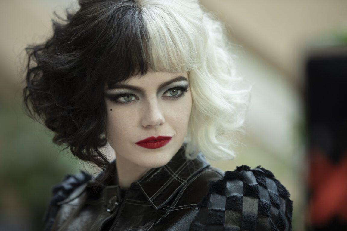 Still of Emma Stone in Disney's Cruella.