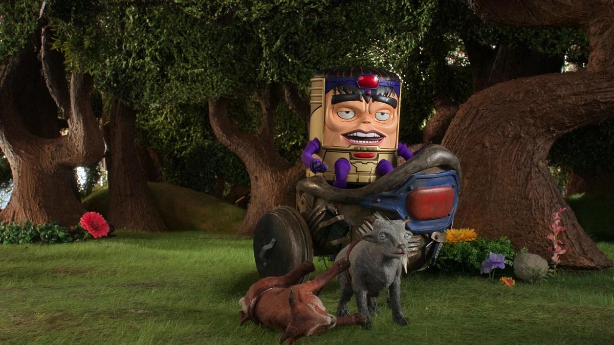 Image of M.O.D.O.K., voiced by Patton Oswalt.