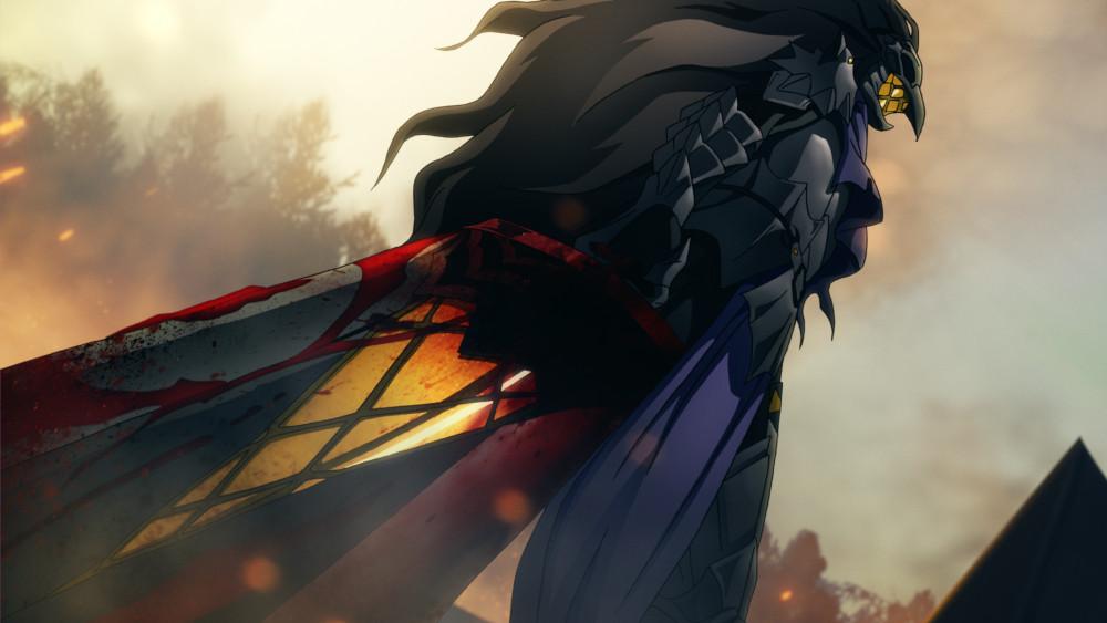 Striga in battle armor.
