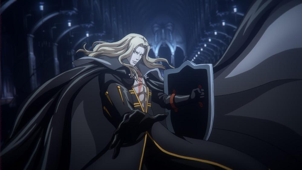 Alucard in his new battle gear.