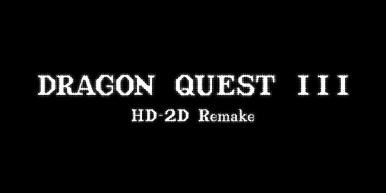 Dragon Quest III HD-2D Remake logo