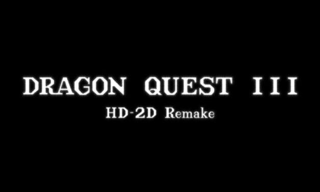 DRAGON QUEST III HD-2D Remake Announced