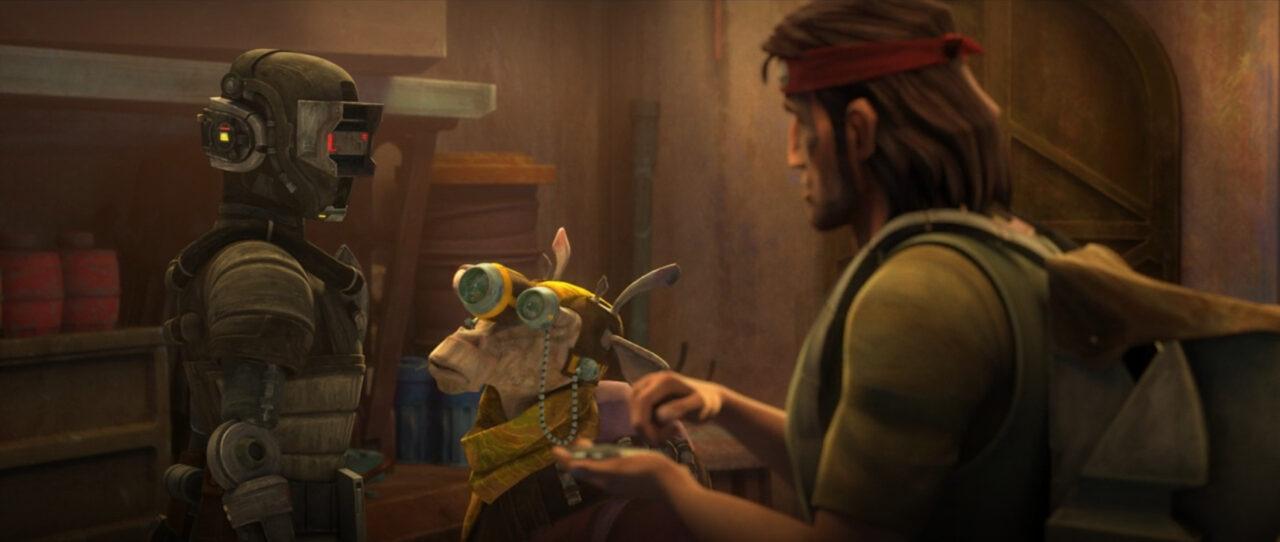 "Hunter sells a ""droid""."