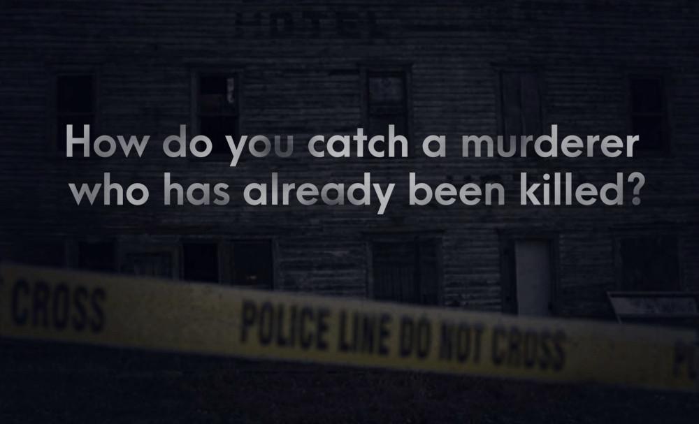 Ghost Town Killer logo.