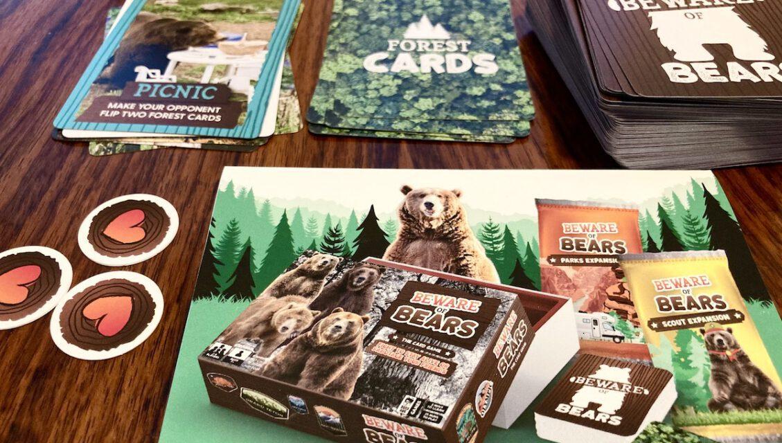 BEWARE OF BEARS Card Game Launching on Kickstarter – Here's What We Think!