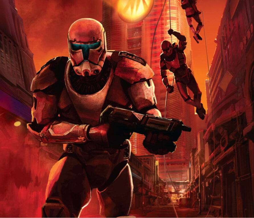 Clone commandos continued their military service under the Galactic Empire.