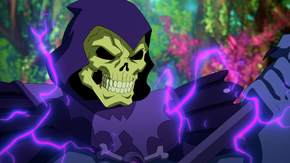 Skeleton in Masters of the Universe: Revelation.