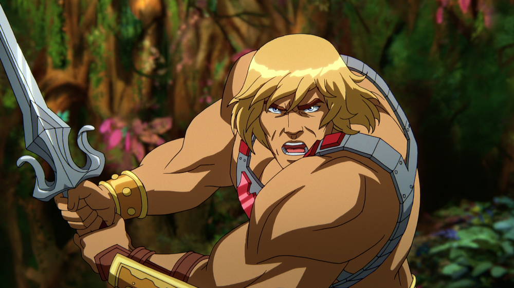 He-Man in Masters of the Universe: Revelation.