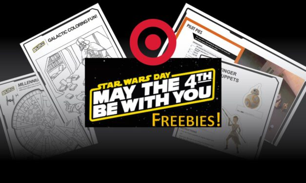 Target Shares Free STAR WARS Downloadable Activities
