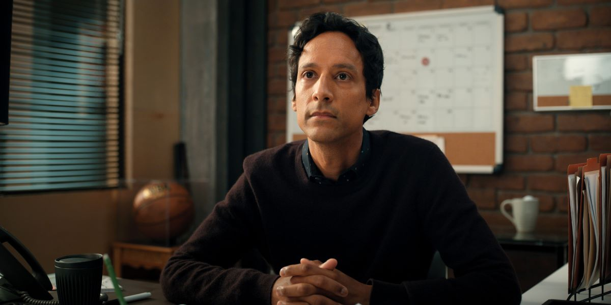 """Still of Danny Pudi in Mythic Quest episode """"Grouchy Goat."""""""