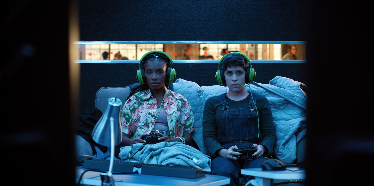 Still of Imani Hakim and Ashly Burch in Mythic Quest episode #YumYum.