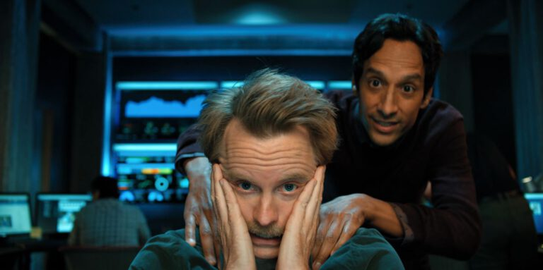 Still of David Hornsby and Danny Pudi in Mythic Quest episode #YumYum.