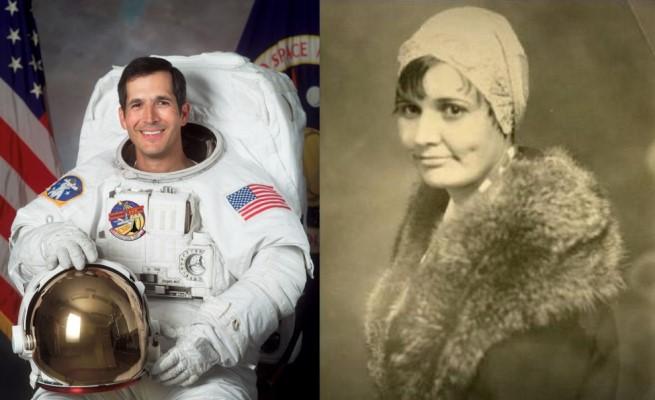 First tribally enrolled Native American in Space, NASA Astronaut John Herrington (Chickasaw Nation) and first Native American aerospace engineer Mary Golda Ross (Cherokee Nation)