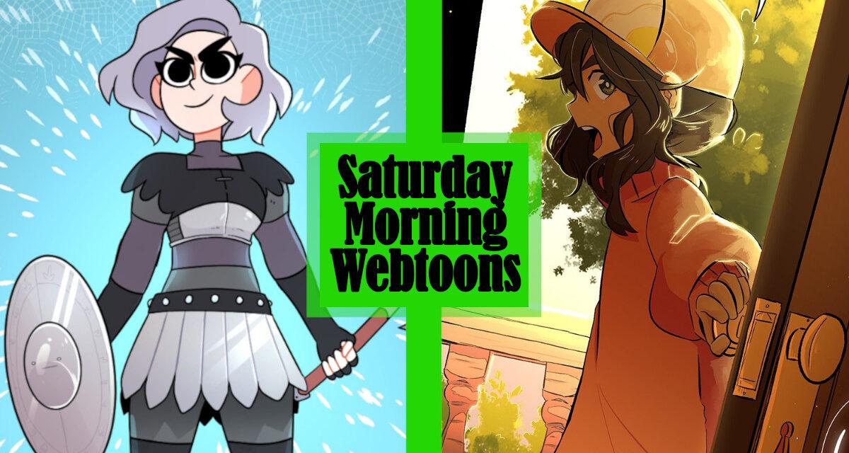 Saturday Morning Webtoons: AXED and LITTLE MATCHA GIRL