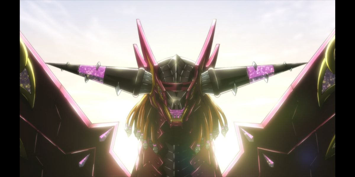 """the lion-dragon kaiju (SSSS.DYNAZENON Season 2 Episode 6, """"What's Our Reason for Coming Together?"""")"""