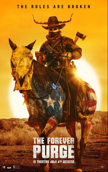 Full poster for The Forever Purge
