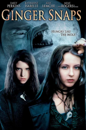 Ginger Snaps movie poster - horror movie of the month