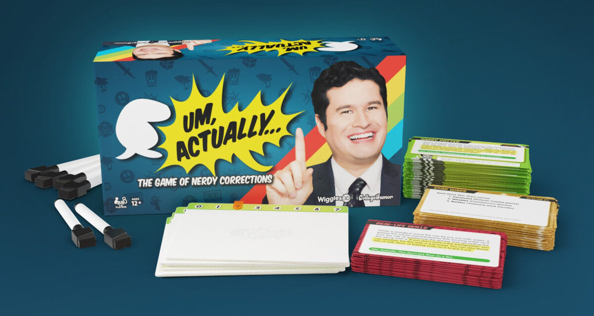 CollegeHumor's UM, ACTUALLY Board Game Launched on Kickstarter