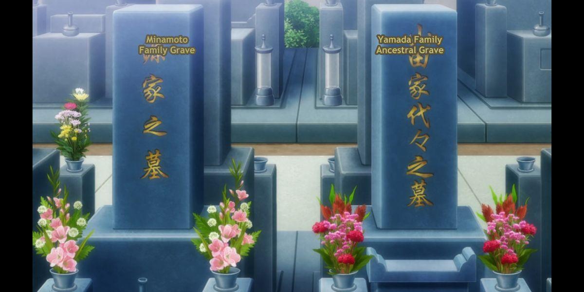 Yamada family grave (Zombie Land Saga Revenge Season 2 Episode 6)