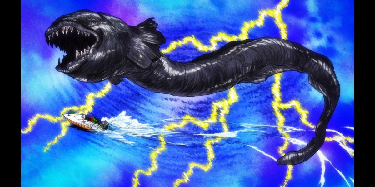 """Misa winning a boat race by pulling off an """"eel turn"""" (Zombie Land Saga Revenge Season 2 Episode 6)"""
