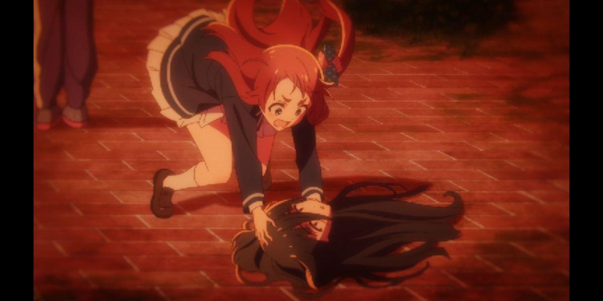Tae's head falls off (Zombie Land Saga Revenge Season 2 Episode 6)