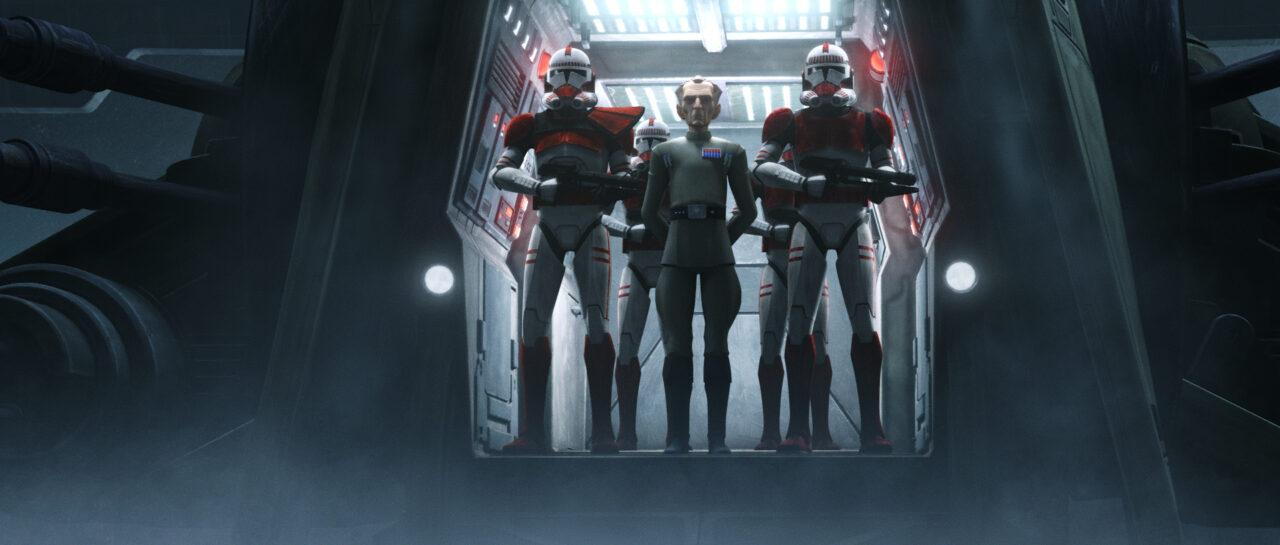 Star Wars The Bad Batch Tarkin