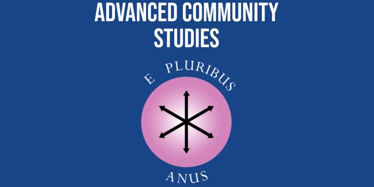 advanced community studies logo