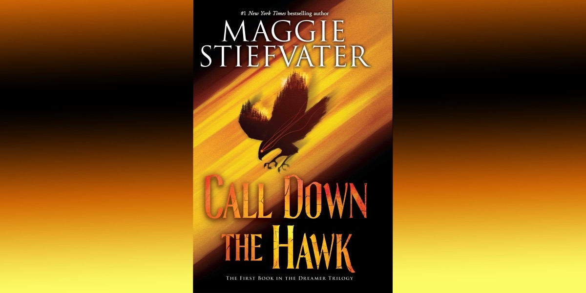 cover of call down the hawk on gradient background