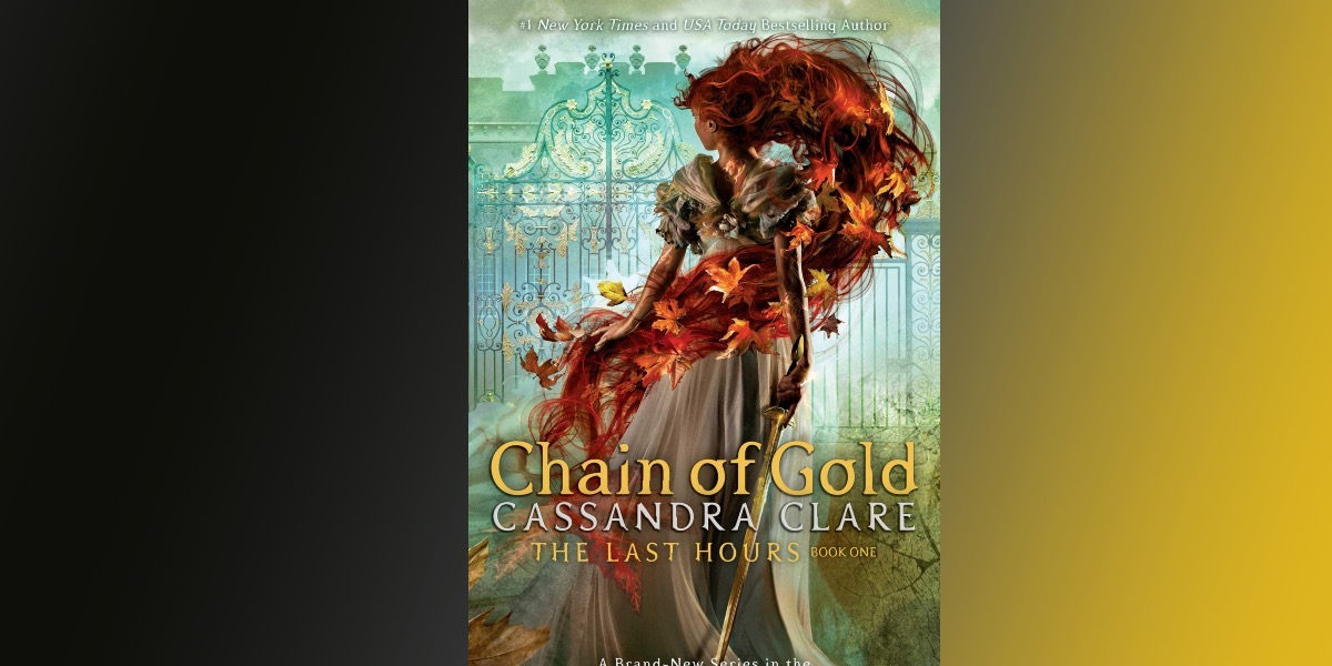 cover of chain of gold on gradient background