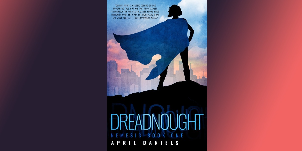cover of dreadnought on gradient background