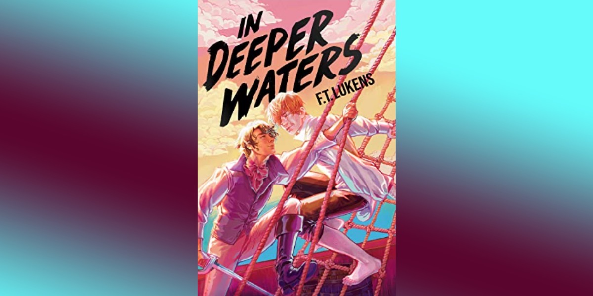 cover of in deeper waters on gradient background