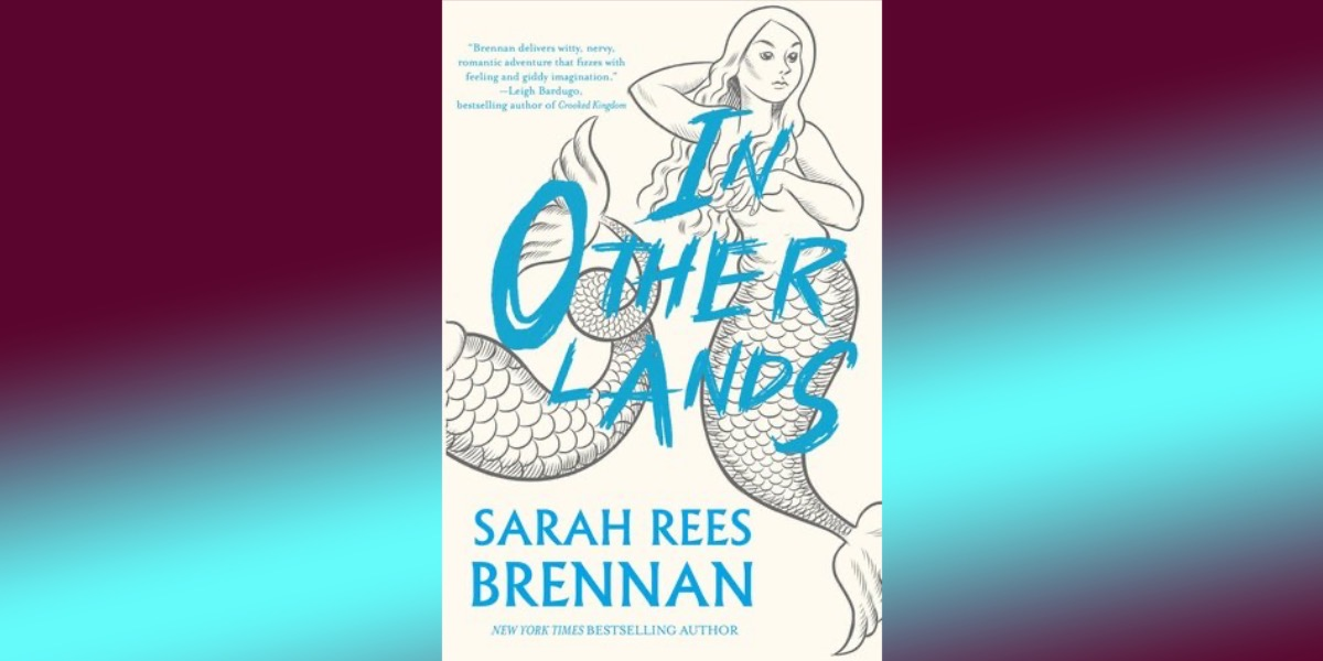 cover of in other lands on gradient background