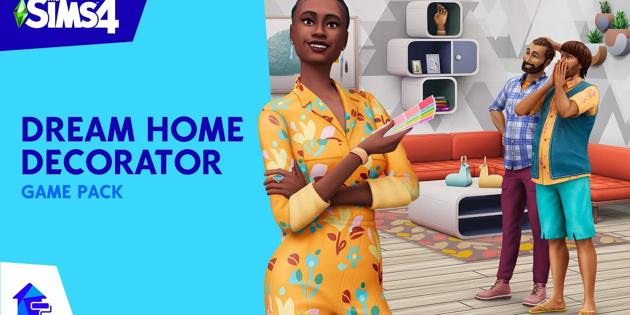 Promo Image for The Sims 4: Dream Home Decorator.