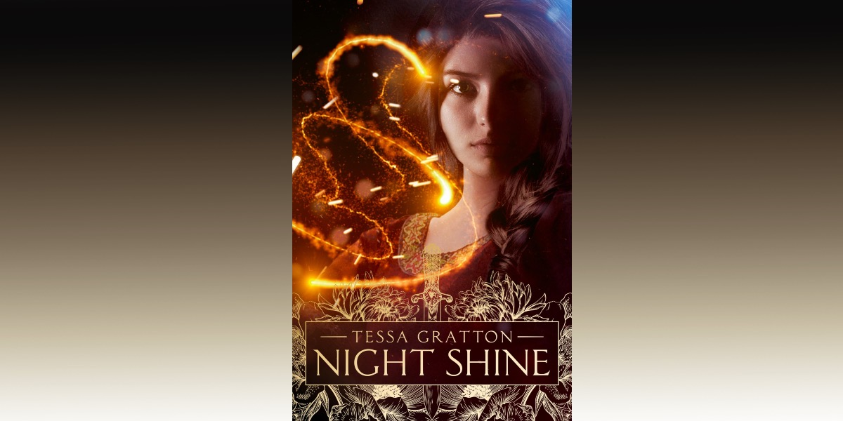 cover of night shine on gradient background