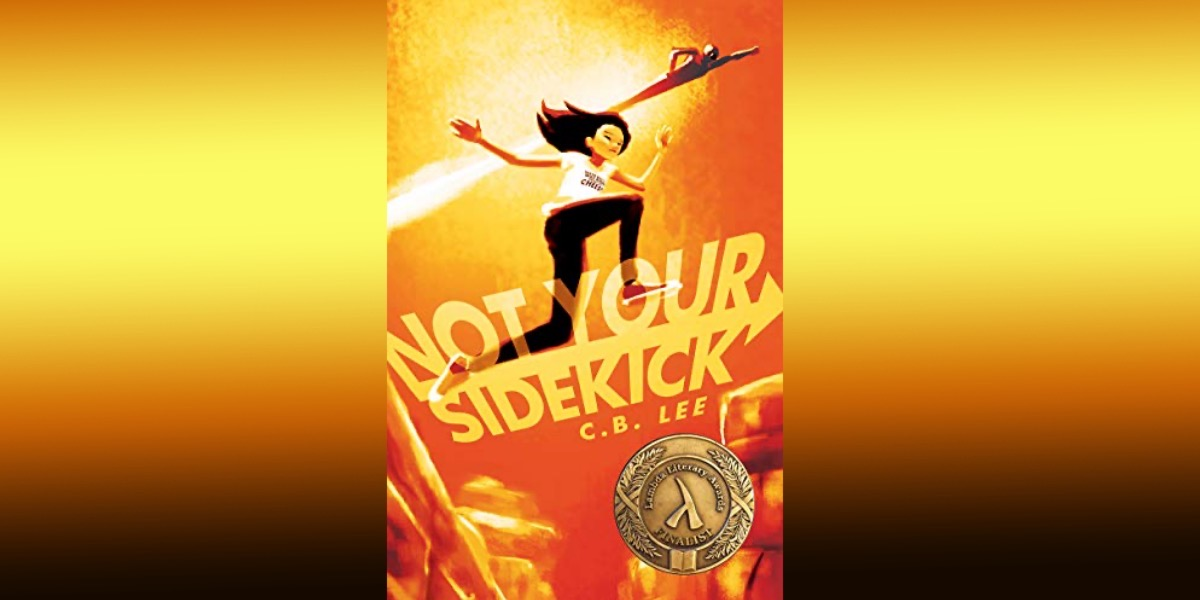 cover of not your sidekick with gradient background