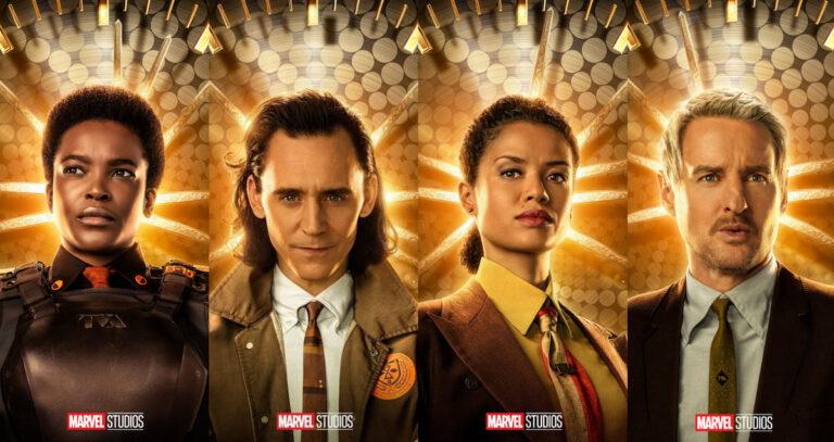 Disney plus loki image featuring Soldier, Loki, Ravonna and Mr. Mobius