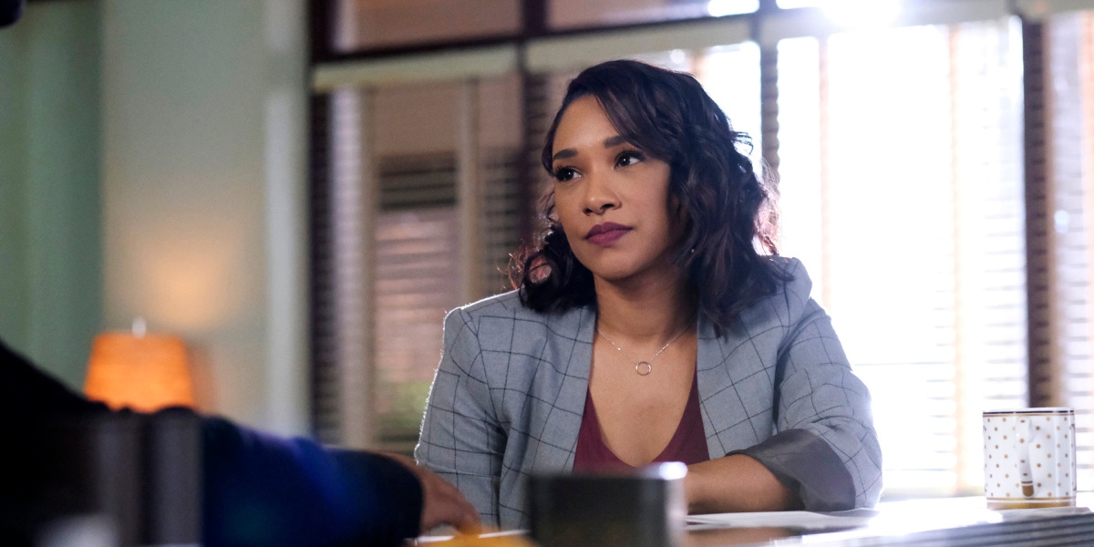 Iris is having a hard time accepting Kamilla's resignation on The Flash
