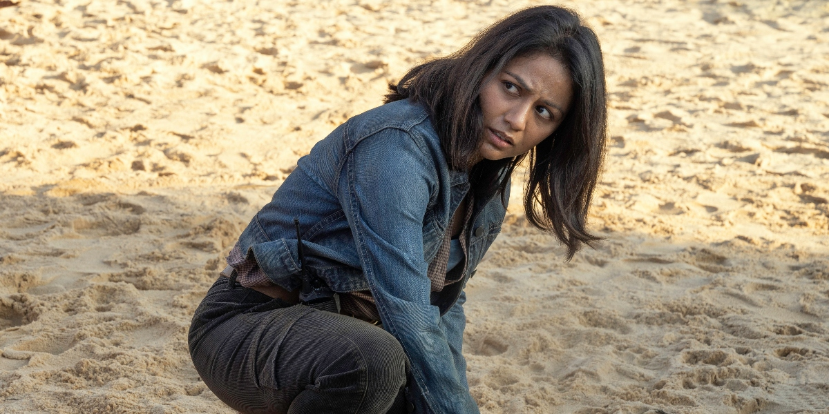 Grace prepares for the worst on Fear the Walking Dead