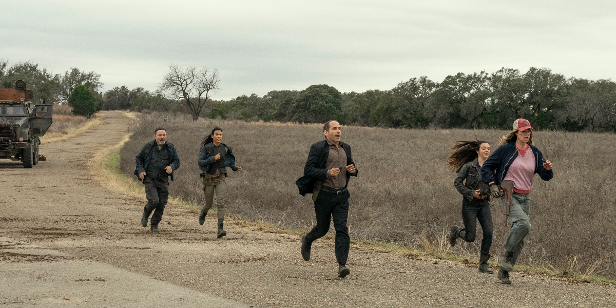 Luciana's group gets help from a familiar voice on Fear the Walking Dead