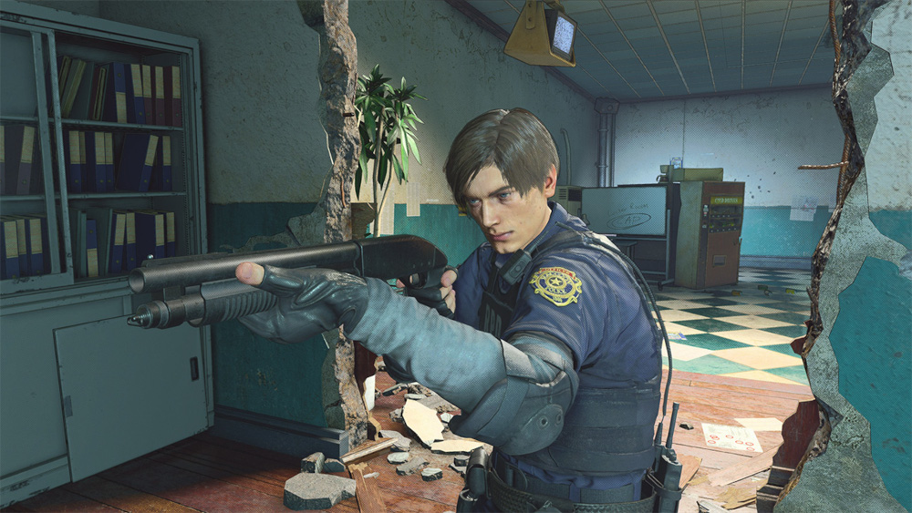 Leon S. Kennedy in Resident Evil RE: Verse.