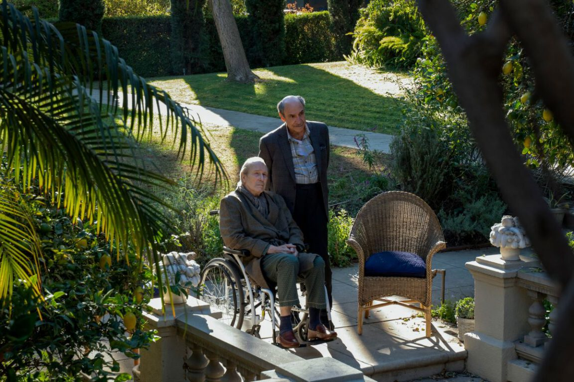 """Still of William Hurt and F. Murray Abraham in Mythic Quest episode """"Peter."""""""