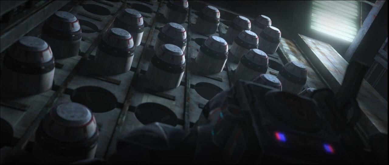 Wrecker recovers the cruiser's proton torpedo stockpile.