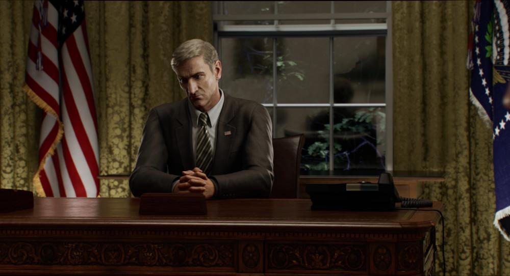President in Resident Evil: Infinite Darkness.
