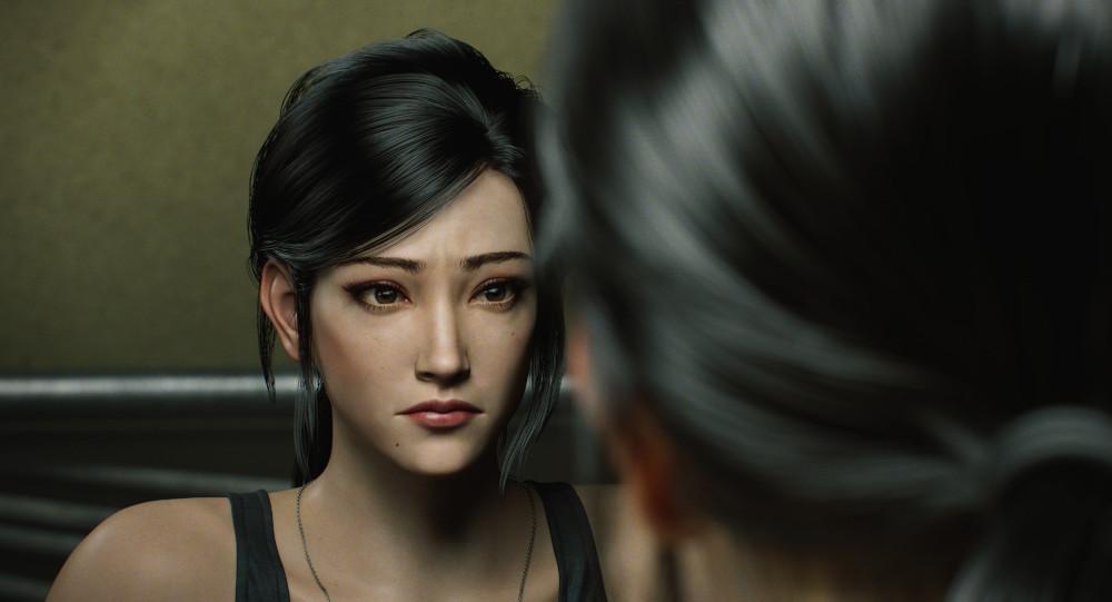 Shen May in Resident Evil: Infinite Darkness.