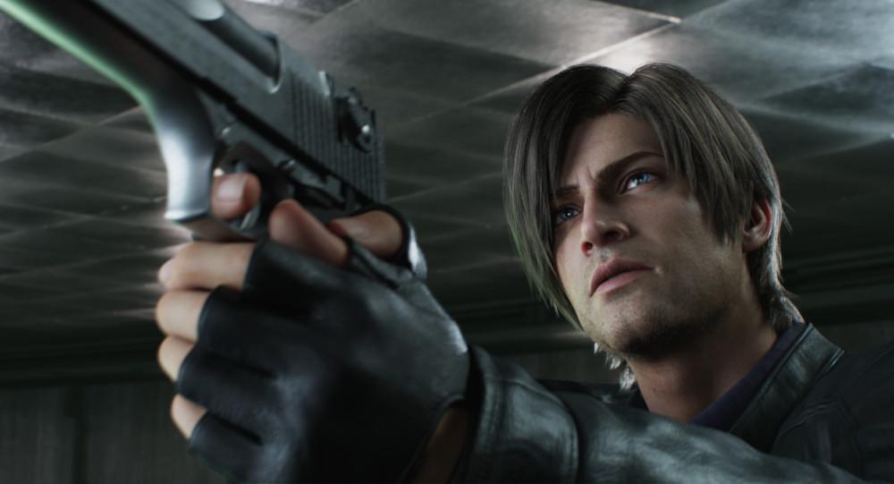 Leon in Resident Evil: Infinite Darkness.